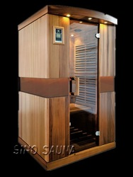 2 person wood house romania with low EMF carbon heater element