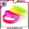Promotional gifts silicone football bracelet