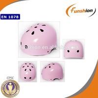skate helmet/cheap skate helmet/ice skating helmet--light pink helmet