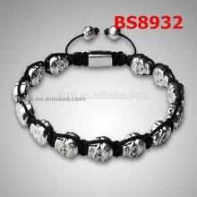 New Product wholesale bead style bracelet white crystal gemstone necklace