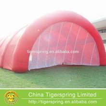 PVC tarpaulin arch tent