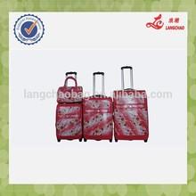 2015 four wheels cheap Leisure International Luggage
