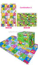 EPE foam educational puzzle baby/kids puzzle play mat. foam puzzle mats