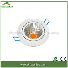 Hot selling COB narrow beam angle 30degree 15w 10w 7w led ceiling down light