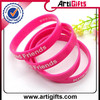 Wholesale cheap china supplier novelty free silicone wristbands