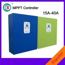 CE Approval LCDmppt solar charge controller12v 24v 40amp