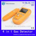 Portable 4 en 1 de monoxyde de carbone détecteur de fuite avec CO = 0 - 999 ppm plage de mesure