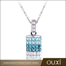 2015 Bottle Necklace made with Swarovski Elements 10305