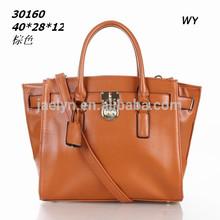 latest design good quality mk fashion Traveler Large Leather Satchel bag lady handbag women bag 2014