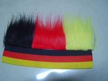 fashion popular football fan human hair kinky curly remy hair braiding