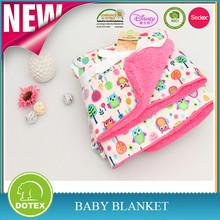 BSCI SEDEX Disney Audited Baby Fleece Blanket,Baby Swaddle Blanket,crochet baby blanket
