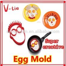 Most enjoyable agreeable human shape silicone mold for egg
