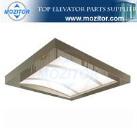 Elevator ceiling design|good quality elevator ceiling parts|low price elevator cabin parts
