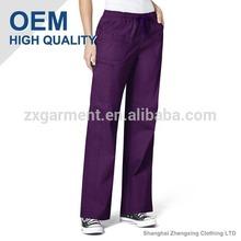 Best Fitting Hospital Pants Purple