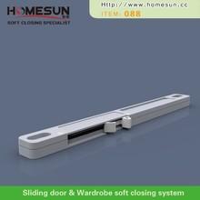 soft closing mechanism for sliding door damper