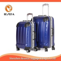 Blue Hard Case Trolley Bags and Luggages