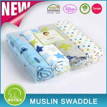 BSCI SEDEX Disney Audited manufacturer cotton muslin swaddle crochet baby blanket
