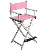 MOQ:1pc,Aluminum makeup chair , beauty hairdressing director chair, cosmetic salon chair, Aluminun director chair