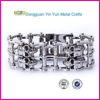 dubai jewellery 22k gold jewellery dubai heavy motorcycle chain skull bracelet