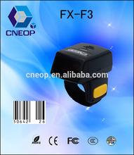 F3 Mini Portable Finger Bluetooth Barcode Scanner Barcode Reader book scanner