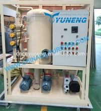 de doble etapa de alto voltaje ultra de purificación de aceite equipo
