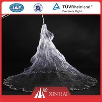 High quality China nylon monofilament gill net with float and lead
