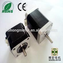 good quality 57mm nema 23 stepper motors, CE and RoHs, holding torque 4 kg.cm upto 28 kg.cm