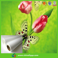 High density FLY competitve price hot sale eco solvent advertising material pp roll film glossy