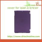 For apple ipad mini 3 case, tablet cover slim leather case for ipad mini 3