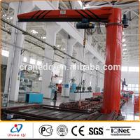 5ton 360 degree Workshop used fixed model rotate jip crane
