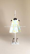 bikini girl giyim etek yuvarlak yakalı elbise saf pamuklu elbise bebek pudrası sarı kemer etek