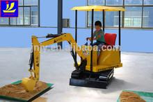 kids playground fiberglass ride equipment,Electric Kids play Sand Excavator
