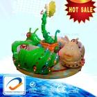 kiddie ride fiberglass small kids carousel for sale