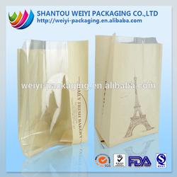 printing qual seal hot food carry bags