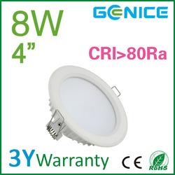 white die casting aluminum shell ce rohs 4inch down lighting led