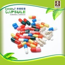 pill and powder quick dissolving empty capsules for medicine