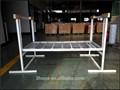Metal prateleira do fio, teto da garagem de armazenamento, ferro prateleiras da loja