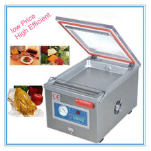 220V Vacuum Packing Machine with Double Sealer Bar and Table Top Parker