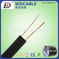 Copper clad steel conductor PE insulated Telephone Drop Wire