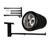 steel plate Adjustable Tire Storage Rack