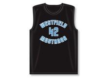 The mesh basketball jersey