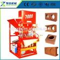 Machinerie de construction équipement éco. maître 7000 machine de brique pressage/comprimé machine brique de terre