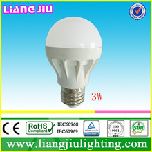 economic warm white led bulbs housings factory in China