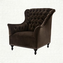 Handmade Modern Patchwork wing chairs wholesales