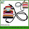 Mobile phone neck hanging carry bag