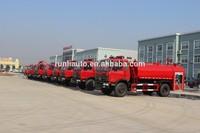 Good helper Wood fire truck 160hp Dongfeng water fire engine truck