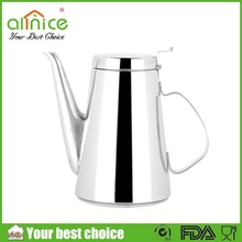 1.2L 1.7L restaurant and hotel metal jug / metal pitcher / stainless steel water kettle