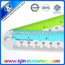 30 cm Bilateral scale aluminum ruler