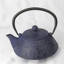 Unique design different seasoned cast iron teapots