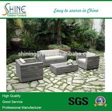 Hot sale Outdoor furniture in wicker sofa C1121-3